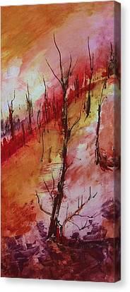 Mountainside #3 Canvas Print