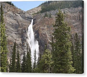 Canvas Print featuring the photograph Mountian Water by Al Fritz