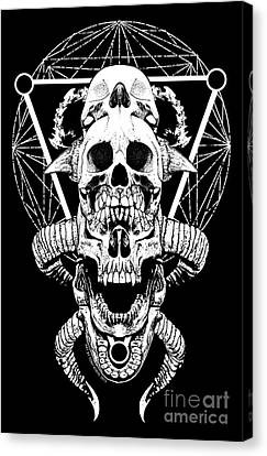 Mouth Of Doom Canvas Print by Tony Koehl