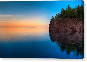 Mouth Of The Baptism River Minnesota Canvas Print