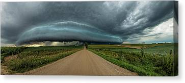 Mouth Of The Beast  Canvas Print by Aaron Groen