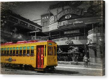Movico 10 And Trolley Canvas Print