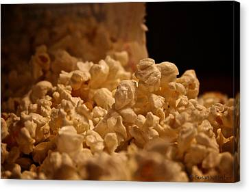Movie Night Canvas Print by Susan Herber