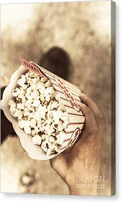 Movie Nostalgia Canvas Print by Jorgo Photography - Wall Art Gallery