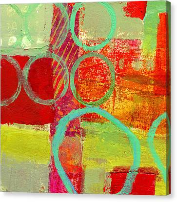 Moving Canvas Print - Moving Through 31 by Jane Davies