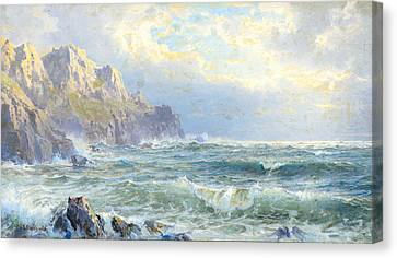 Moye Point Guernsey Channel Islands Canvas Print