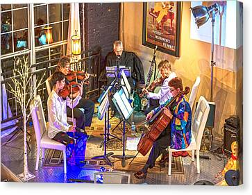 Canvas Print featuring the photograph Mozart Mash by Anthony Baatz