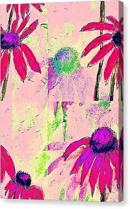 Mprints - Daisies 1 Canvas Print