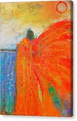 Mprints - Angel Of The Morning Canvas Print by M Stuart