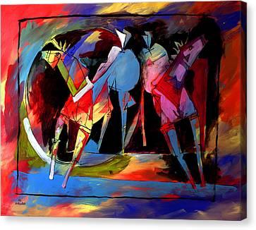 Mr Ameeba 1 Canvas Print