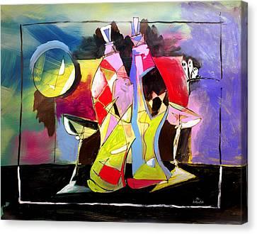 Mr Ameeba 3 Canvas Print