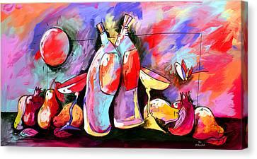 Mr Ameeba 4 Canvas Print