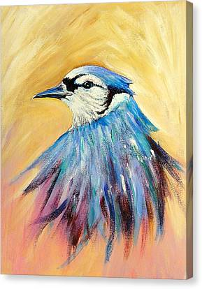 Mr. Blue Canvas Print by Patricia Piffath