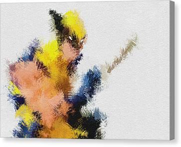 Mr. Claw Canvas Print by Miranda Sether