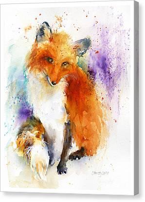 Mr. Fox Canvas Print by Christy Lemp