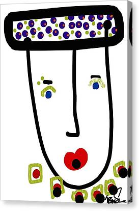 Mr. Glamour Pie Canvas Print