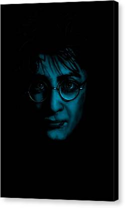 Mr Harry Potter Canvas Print by Brian Broadway
