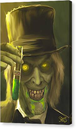 Mr Hyde Mark Spears Monsters Canvas Print