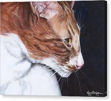 Mr. Kitty Canvas Print