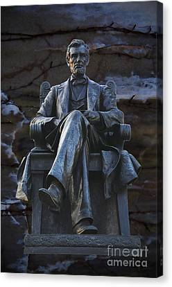 Mr. Lincoln Canvas Print