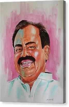 Mr. Madhusudhana Chari Canvas Print by Venkat Meruvu