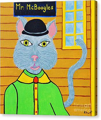 Mr. Mcboogles Canvas Print
