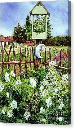 Mr Moon's Garden Canvas Print