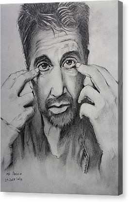 Mr. Pacino Canvas Print by Ted Castor