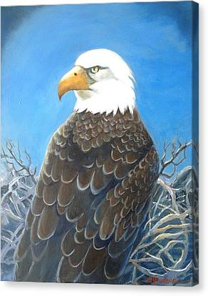Canvas Print - Mr. President by Marilyn Jacobson