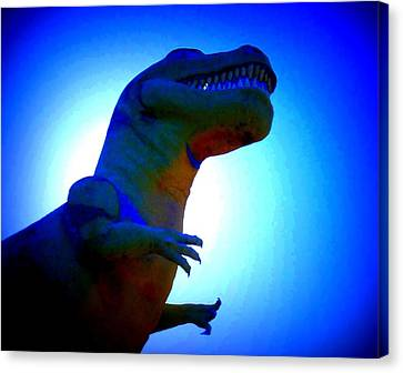 Mr. Rex 2 Canvas Print by Randall Weidner