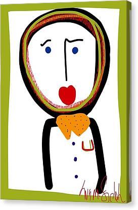 Mr. Tidy Boy Canvas Print