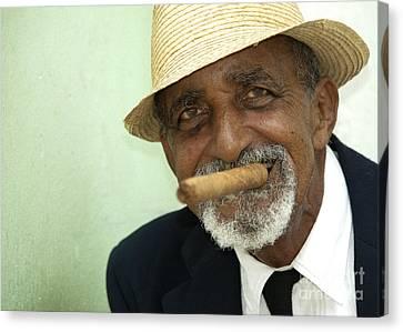 Mr Trinidad  Canvas Print by Rob Hawkins