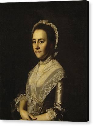 Mrs Alexander Cumming Canvas Print by John Singleton Copley