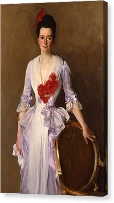 Mrs Archibald Douglas Dick Canvas Print