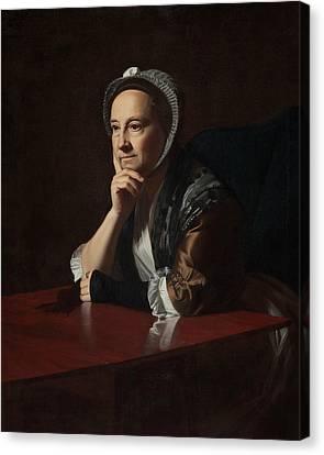 Mrs Humphrey Devereux Canvas Print by John Singleton Copley