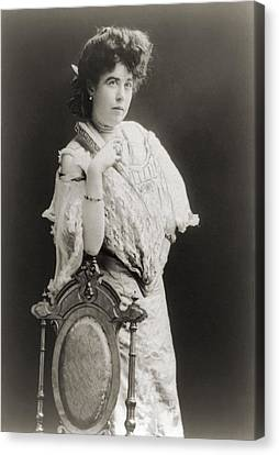 Mrs. James J. Molly Brown 1867-1932 Canvas Print by Everett
