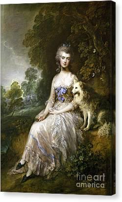 Mrs Mary Perdita Robinson  Canvas Print