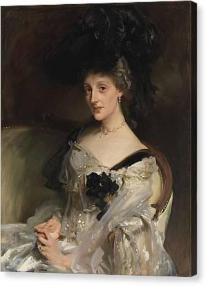 Mrs Philip Leslie Agnew Canvas Print by John Singer