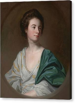 Mrs. Robert Hyde Canvas Print by John Singleton Copley