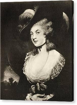 Mrs Robinson After Sir Joshua Reynolds Canvas Print