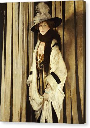 Mrs St George Canvas Print by Sir William Orpen