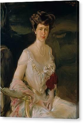 Mrs. Winthrop W. Aldrich Canvas Print by Joaquin Sorolla
