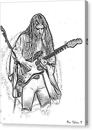 Mrsea #49 Enhanced Sketch Canvas Print by Ben Upham