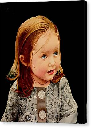 David Hoque Canvas Print - Ms Josie by David Hoque
