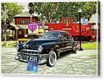 Ms Liz The 49 Cadillac Canvas Print