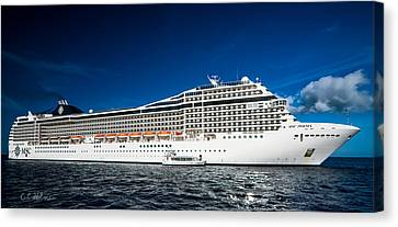 Msc Poesia Canvas Print