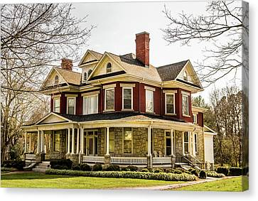 Mt. Airy Home Canvas Print by Cynthia Wolfe