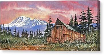 Mt. Baker Dawn Canvas Print by James Williamson