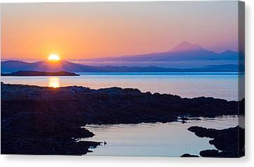 Mt. Baker Sunrise Canvas Print by Keith Boone