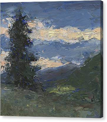 Mt Baldy Canvas Print